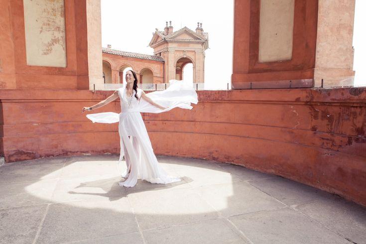 A rock&roll bride #auroremartignoni #wedding #weddingphotography #weddinginitaly #weddingphotographer