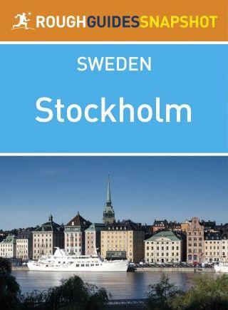 Stockholm: Rough Guides Snapshot Sweden
