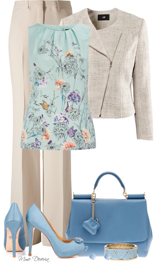 "I bought a top similar in Paris....oriental flowers are beautiful! ""Flower power"" by madamedeveria on Polyvore"