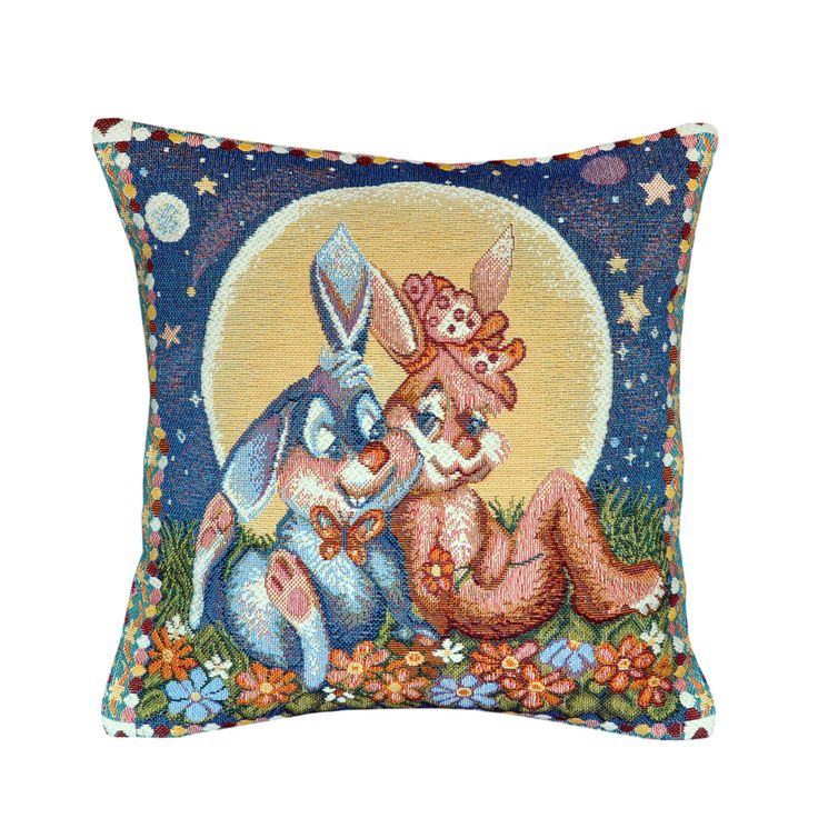 Sitting In The Moonlight Tapestry Cushion 30x30cm