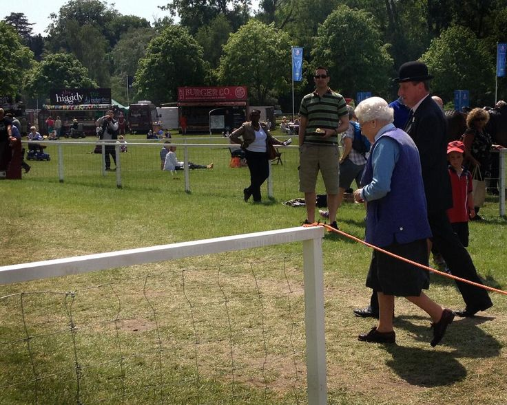 Is the Queen on her way to get a Higgidy pie at The Royal Windsor Horse Show...