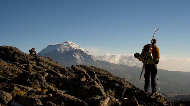 FROZEN SALSA by David Rasmussen. ski mountaineering in mexico
