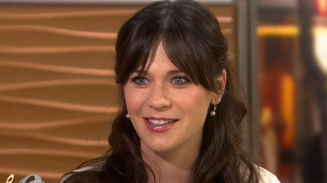 Zooey Deschanel was a guest on Today promoting her new film, Rock the Kasbah. At the movie's premiere Monday, the actress revealed the name of her 3-month-old daughter: Elsie Otter. Both Zooey and her husband, Jacob Pechenik, liked the name Elsie, and the two have an affinity for otters. That's right