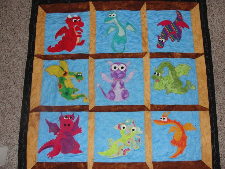 dragon quilts patterns | Dragon Quilt Pattern                                                                                                                                                                                 More