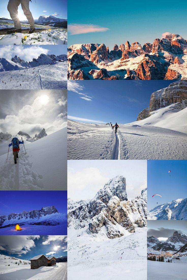 Dolomiti, the #beauty of a UNESCO world heritage 3000 mt high
