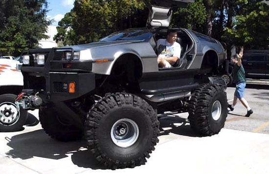 DeLorean Monster Truck - 01