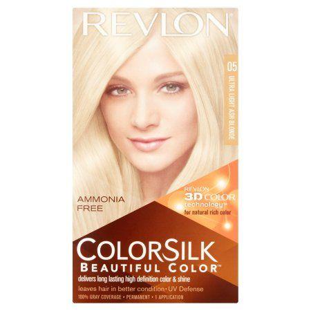 Beauty Ash Blonde Light Ash Blonde Revlon Colorsilk