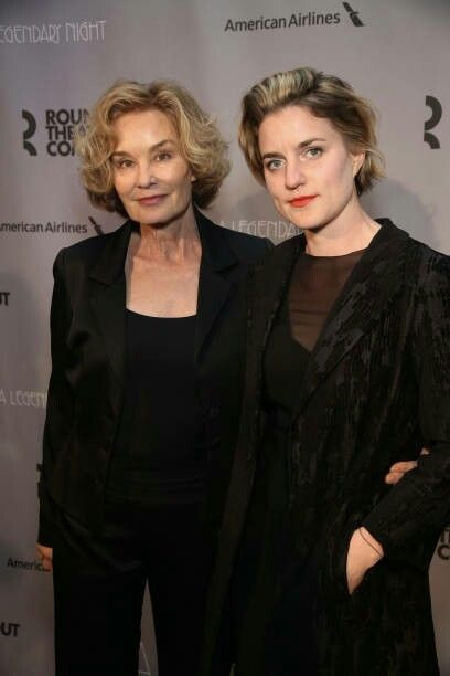 Jessica Lange and daughter Hannah attend the Roundabout ...