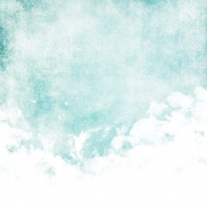 Water Color Like Cloud On Old Paper Texture Background Self