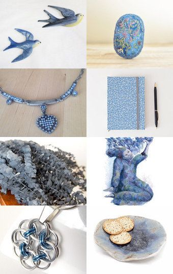Dusty Blue by Kelly on Etsy--Pinned with TreasuryPin.com