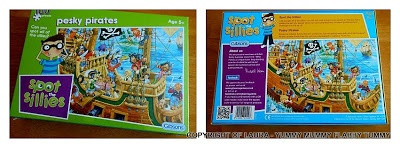 Puzzles are always fun to do together. We reviewed this one for Gibson Games!