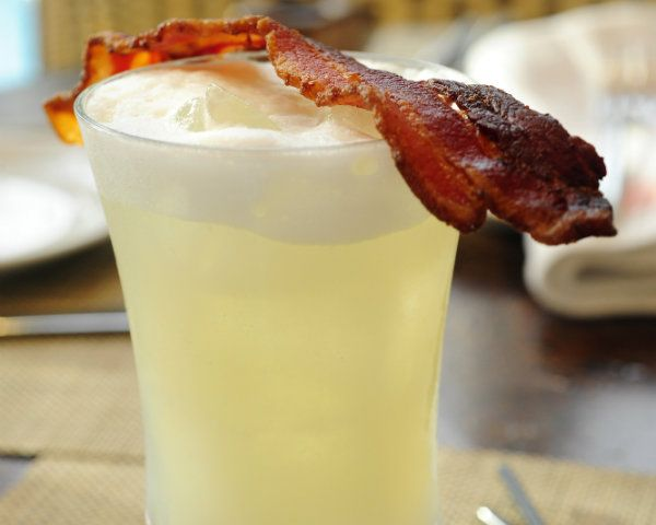 Tavis Chavez over at FIG in Santa Monica, Calif., came up with this delicious bacon cocktail. ...