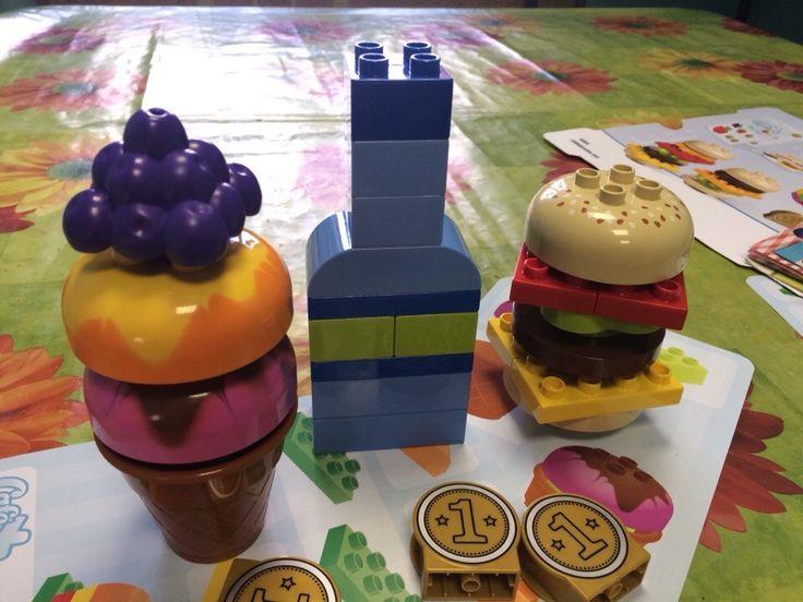 Детская поделка Lego еда