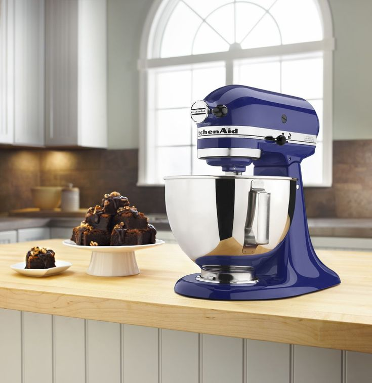 KitchenAid® Cobalt Blue Artisan® Stand Mixer #kitchenaid