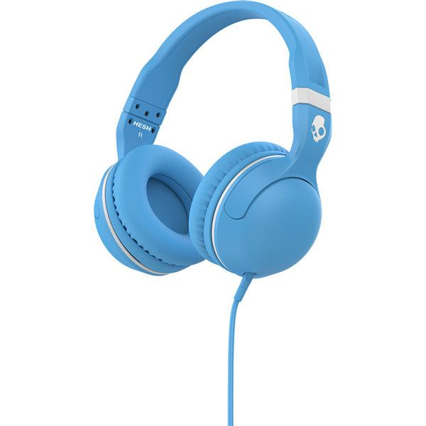 Skullcandy Hesh 2.0 Headphones with Mic ($39) ❤ liked on Polyvore featuring accessories, tech accessories, headphones, skullcandy and skullcandy headphones