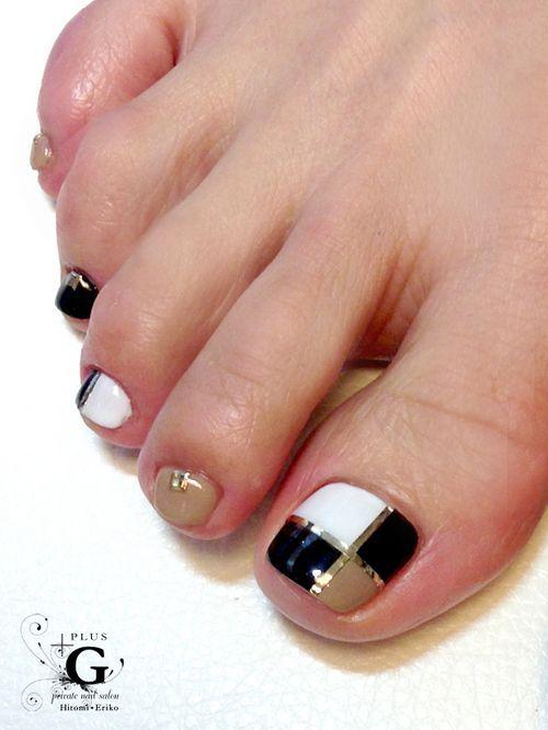 Más de 40 fotos de uñas decoradas para Pies \u2013 Foot nails