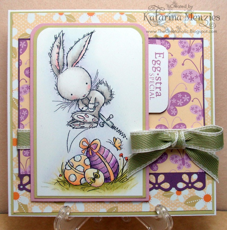 LOTV - Spring Bunny with Eggs - http://www.liliofthevalley.co.uk/acatalog/Stamp_-_Spring_Bunny_with_Eggs.html