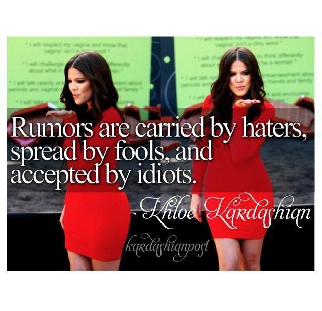 Kardashian Quotes: 7 Awesome Khloe Kardashian Quotes Morably