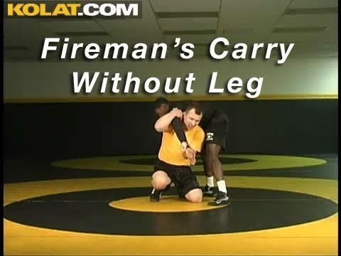 Fireman's Carry from 2 on 1 Without Leg KOLAT.COM Wrestling Techniques M...