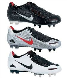 Nike Black and white  Soccer Boots