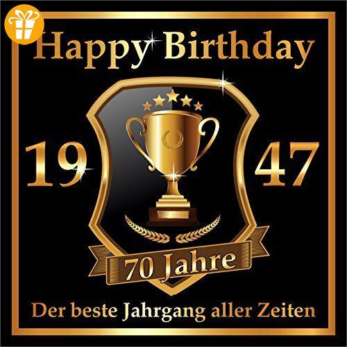 Schön 1 St. Aufkleber Original RAHMENLOS® Design: Selbstklebendes  Flaschen Etikett Zum Geburtstag: 1947 Der Beste Jahrgang   Shirts Zum 70  Geburtstag ...