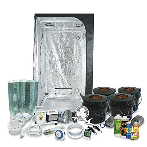 """Complete 3 x 3 (39""""x39""""x79"""") Grow Tent Package With 400-W... http://amzn.to/1NVI7yJ"""