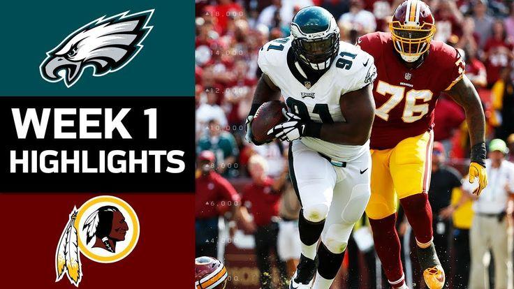 awesome Eagles vs. Redskins | NFL Week 1 Game Highlights