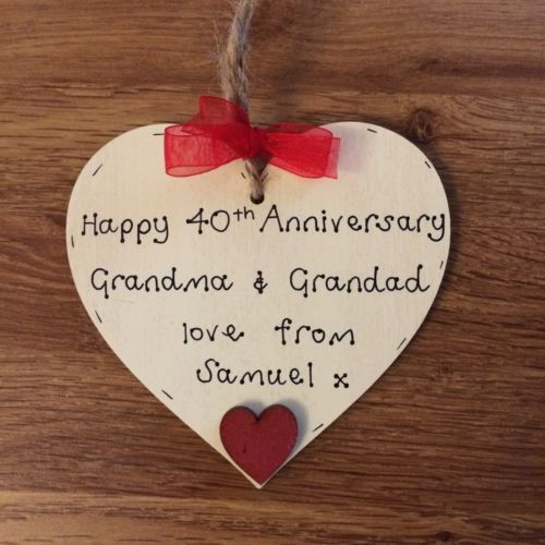 Ruby Wedding Anniversary Gift For Parents Uk : ... 40th anniversary gifts, Ruby wedding anniversary and 40th anniversary