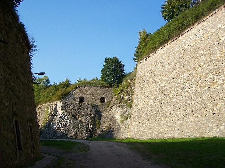 Inside stronghold in Kłodzko/Glatz, Lower Silesia, Poland