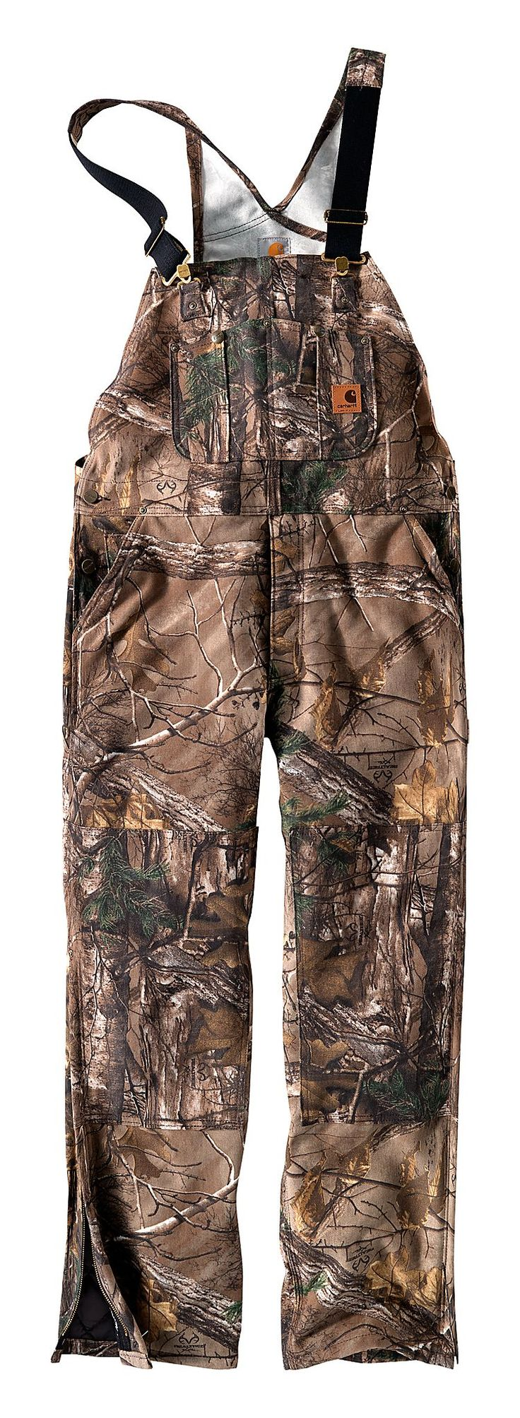 Carhartt® Realtree Xtra® Camo Bib Overalls for Men | Bass Pro Shops