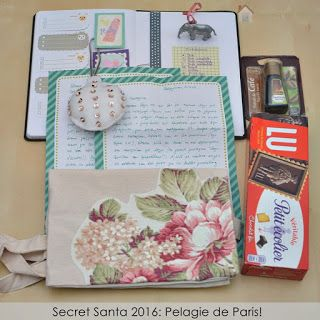 Κυριακή στο σπίτι...: Secret Santa 2016: Pelagie de Paris!