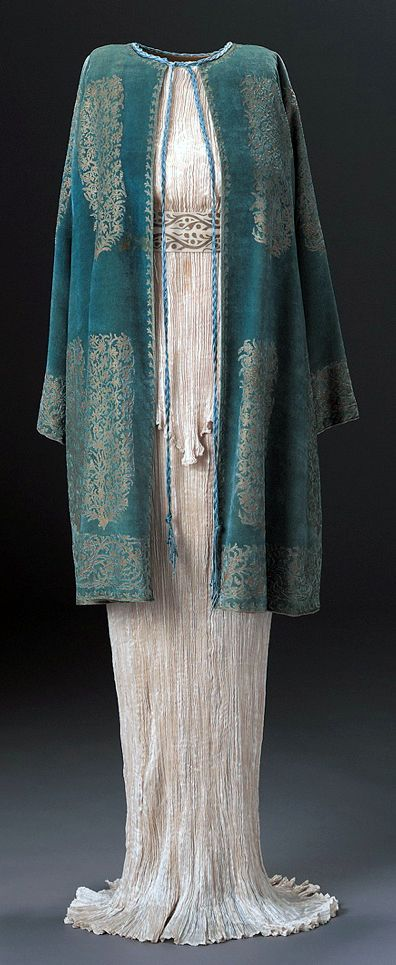 Mariano Fortuny - Couture - Robe 'Delphos' et Toge