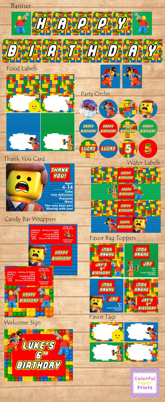 Hey, I found this really awesome Etsy listing at https://www.etsy.com/listing/181842174/lego-party-kit-blocks-party-kit-lego