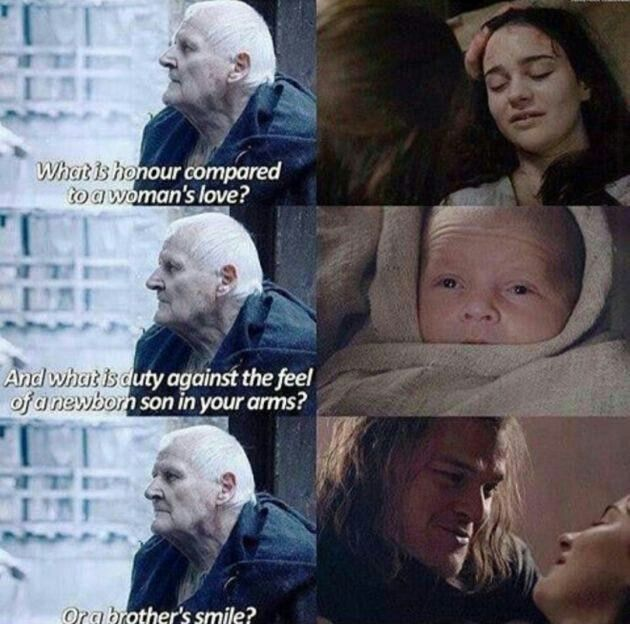 Game of thrones - Promise me Ned.