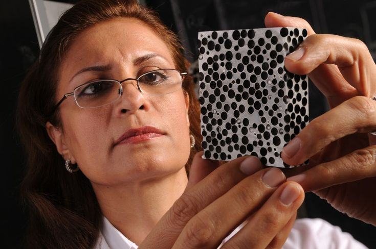 A new composite metal foam made of steel is strong enough to stop bullets and is also resistant to heat and radiation.