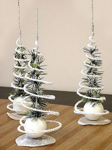 Simple homemade Christmas crafts photos1