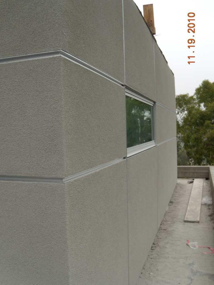 Stucco Panel Layout Layout Architecture