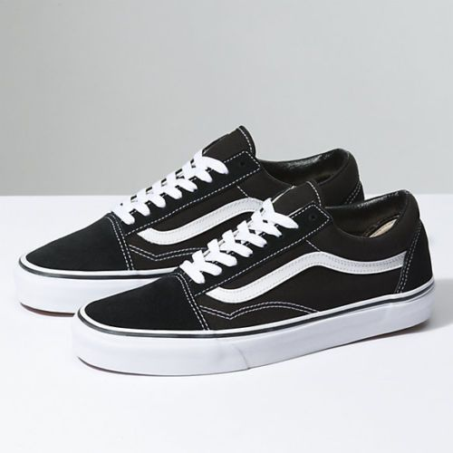 092df989168 New Men and Women Vans Old Skool Black Skateboarding Shoes Classic Canvas  Suede