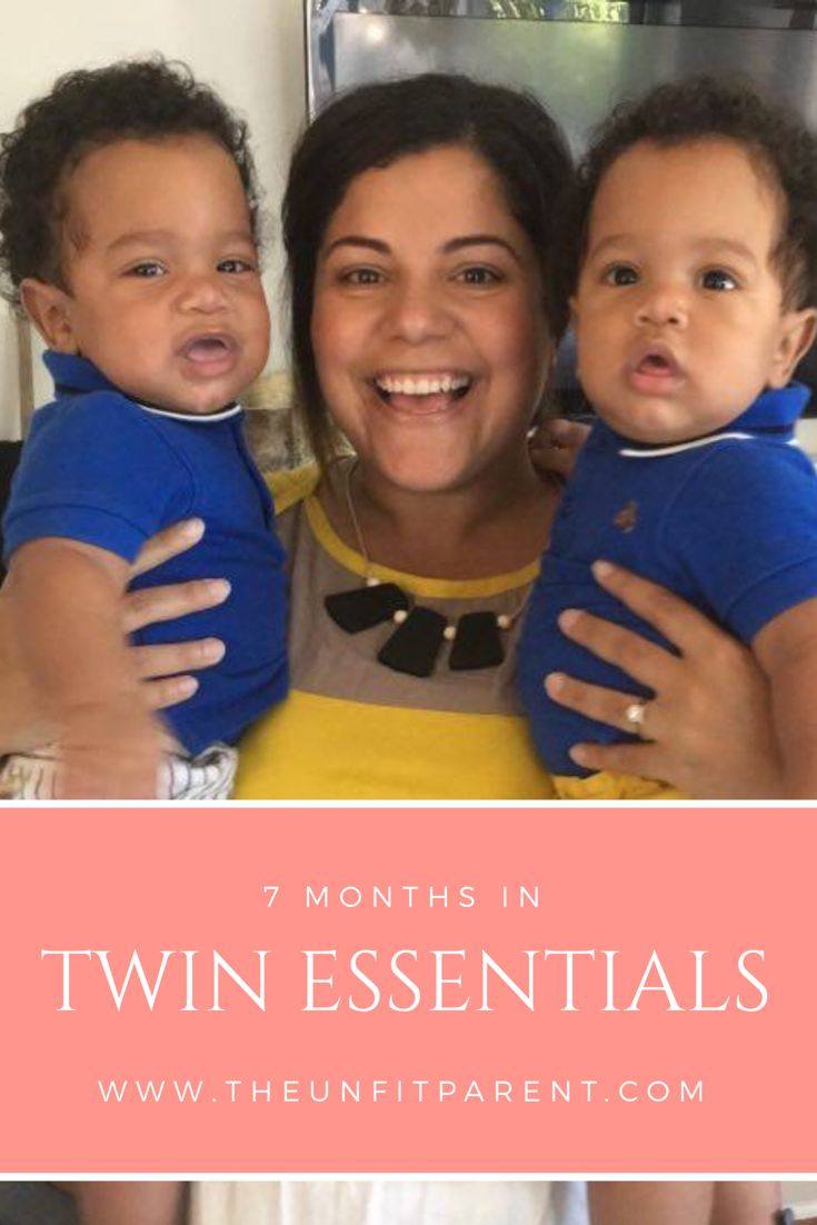 7 months in with twins and I'm happy to say, we made it. Here are six things I couldn't live without as a new Mom to twin boys. #newborn #baby #infant