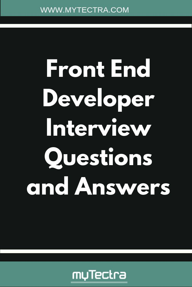 Front End Developer Interview Questions And Answers Interview Questions And Answers This Or That Questions Interview Questions