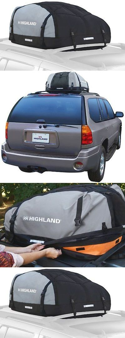 Car Racks 114254: Highland 1039800 Black Gray 10-15 Cu.Ft Expandable Car Top Bag -> BUY IT NOW ONLY: $52.24 on eBay!