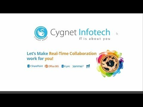 Cygnet brings you this webinar on how you can build a real-time collaboration platform for your organization by putting Microsoft SharePoint or Office365 to work. Do you want to know more about this webinar so please download this Presentation.