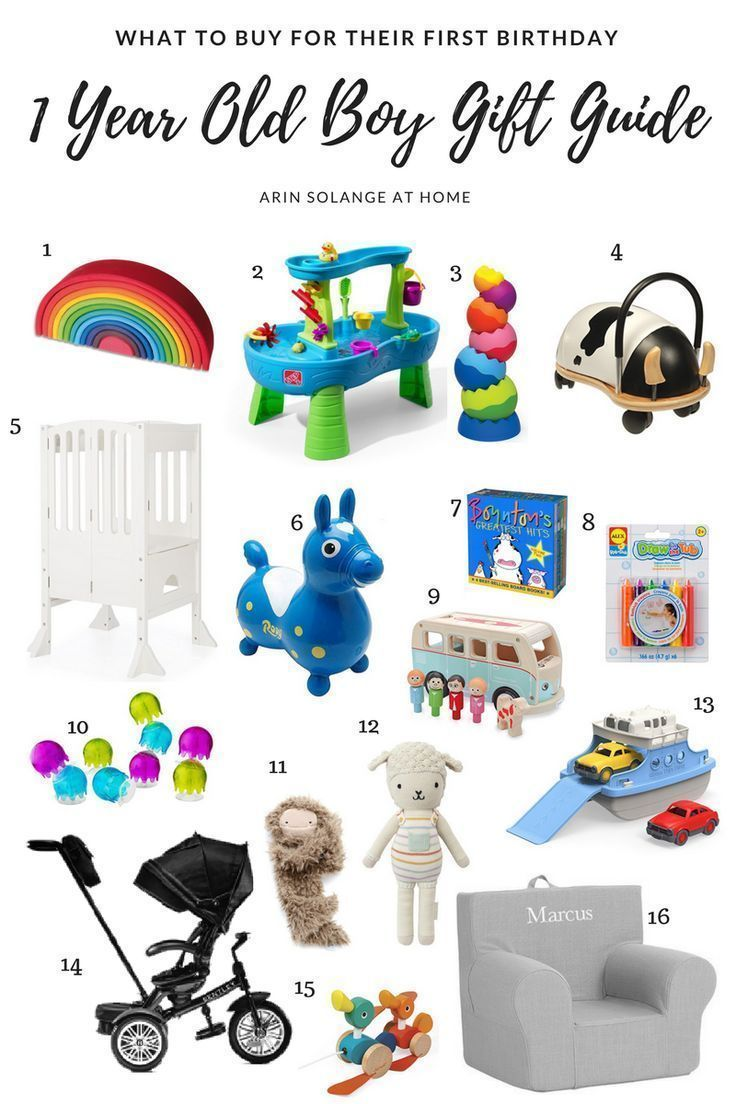 One Year Old Boy Gift Guide Arinsolangeathome Birthday Presents For Boys Birthday Gift Idea Boys Baby S First Birthday Gifts