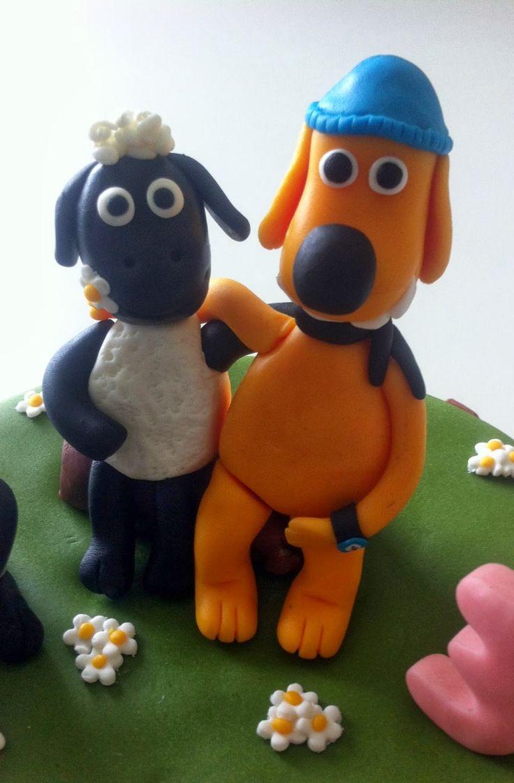 Há algum tempo que não publicava um bolo decorado com pasta de açúcar . Este foi o bolinho que fiz para o terceiro aniversário da Sara. ...