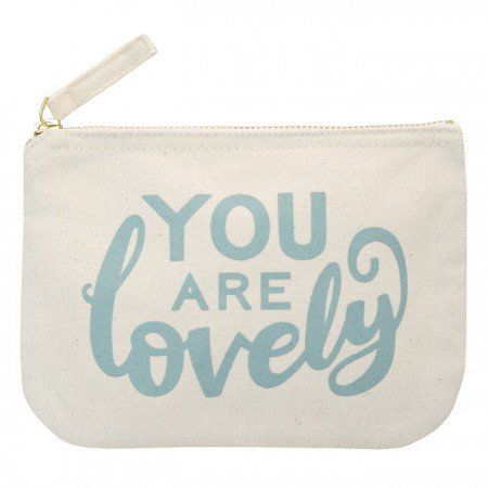 Handtasje You Are Lovely Blauw