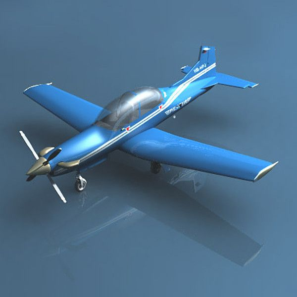 lightwave pilatus pc-9 plane