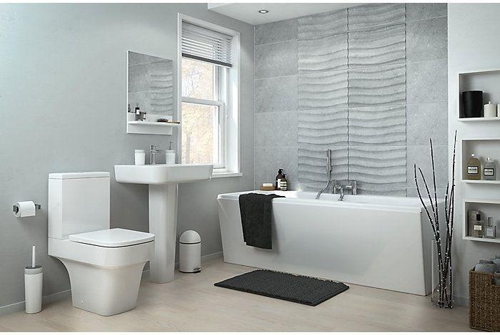 Caldaro | Bathroom Suites | Bathroom | Rooms | DIY at B&Q
