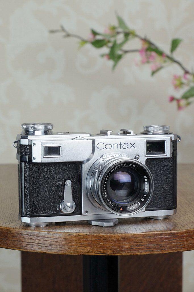 Excellent! 1937 Zeiss Ikon Contax II, CLA'd, Freshly Serviced! – Petrakla Classic Cameras