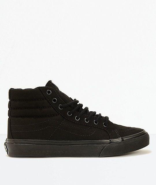 8a7d691069 New Vans Sk8-Hi Slim Black Shoes Men s Sz 6 Women s Sz 7.5  fashion   clothing  shoes  accessories  unisexclothingshoesaccs  unisexadultshoes ( ebay link)