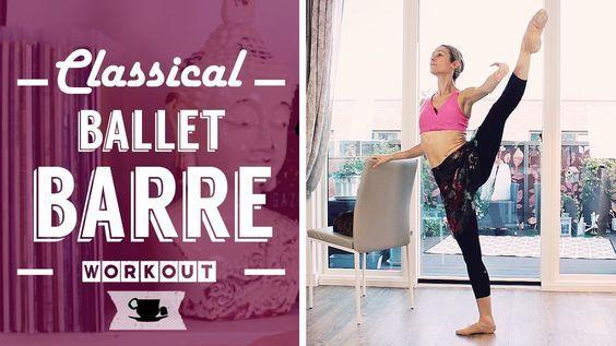 Classical Full Ballet Barre Workout | Lazy Dancer Tips